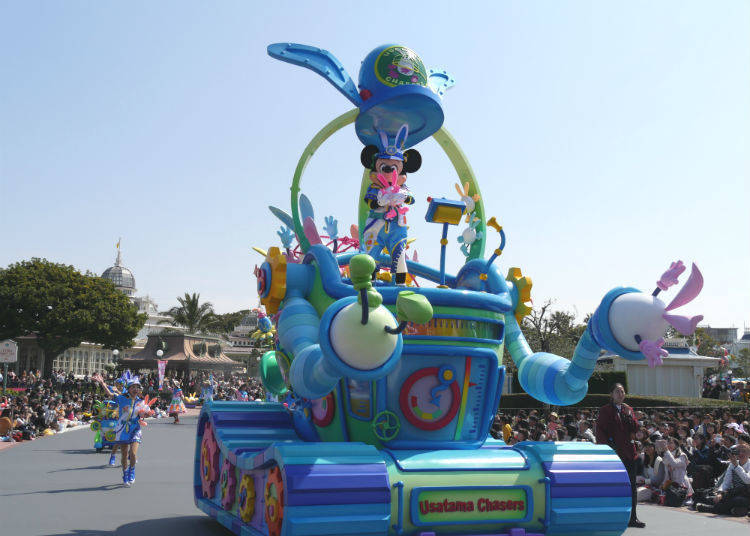The Colorful Floats of the Disney Easter Parade