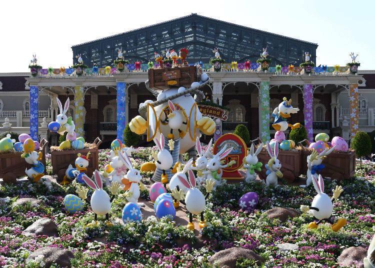 Easterly Decoration all around Tokyo Disneyland