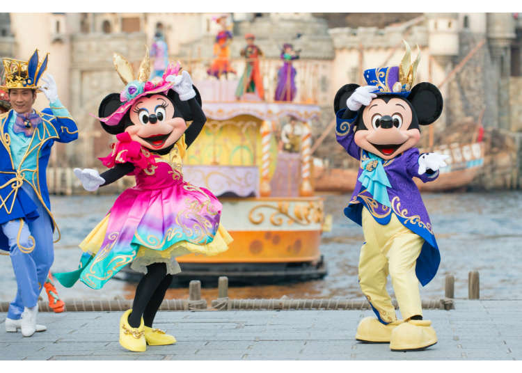 Disney Easter 2017 at Tokyo DisneySea – Magic, Fashion, and Colors!