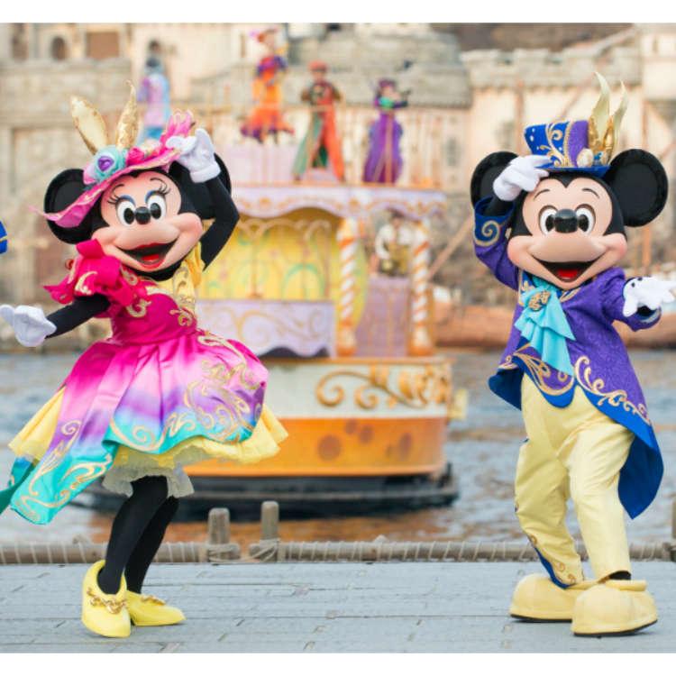 暌違兩年重新登場 東京迪士尼海洋復活節大秀