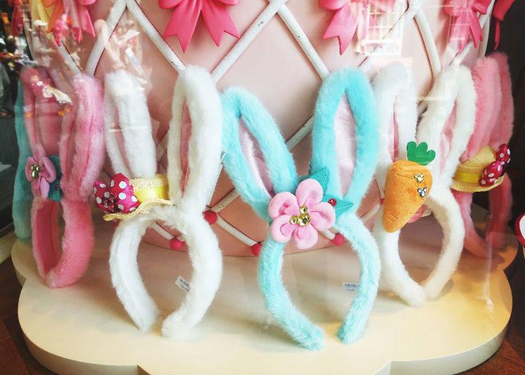 Bunny Ear Hairbands & Hair Ties