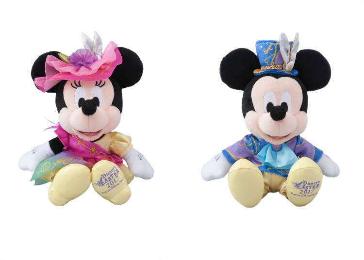 Mickey and Minnie Costume Plushies