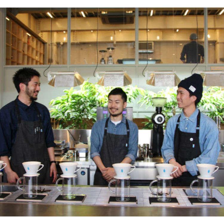 探訪BLUE BOTTLE COFFEE精彩魅力