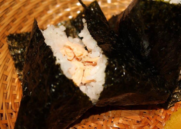 Yadoroku's Definition of Delicious Onigiri