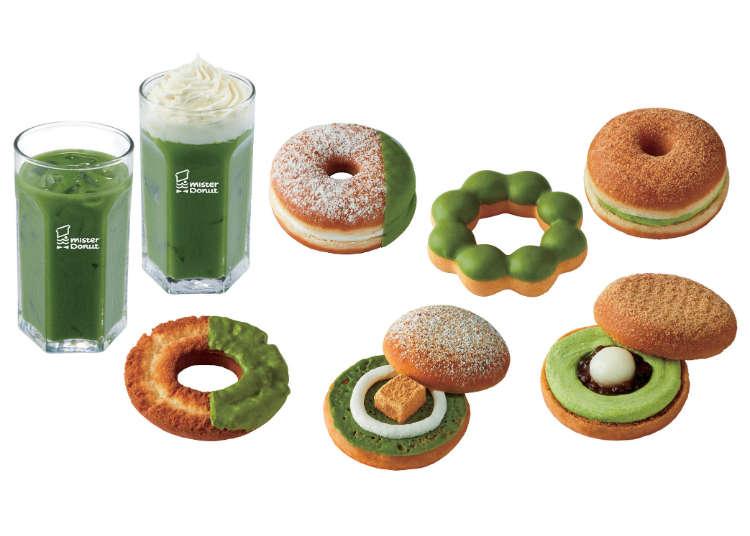 抹茶迷又要失心瘋了!Mister Donut x 祇園辻利抹茶甜甜圈限量登場