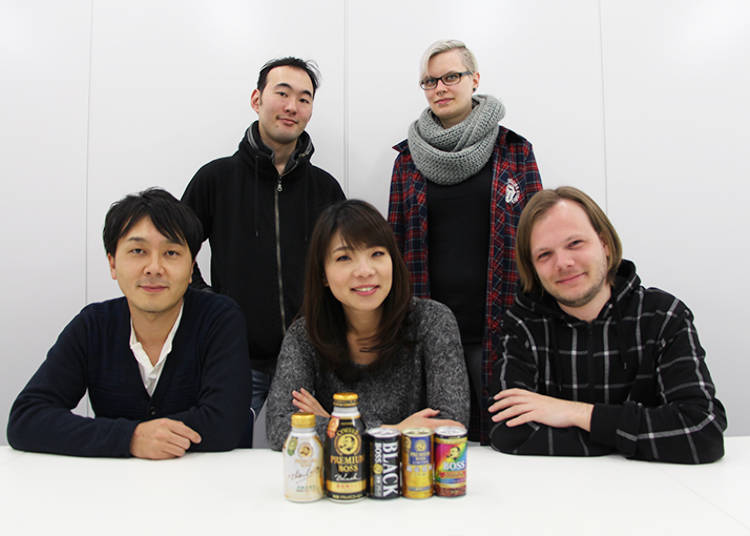 The Five Canned Coffee Taste Testers