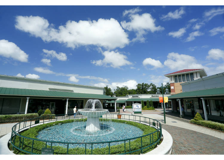 be1b2accf45 Gotemba Premium Outlet in Shizuoka Prefecture might be the most beautiful outlet  mall on the list