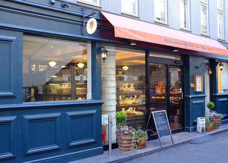 Boulangerie et Cafe Main Mano: Pastries from a Skilled Chef