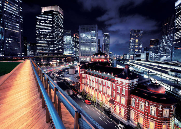 KITTE: the Night View Fusion of Tradition and Modernity