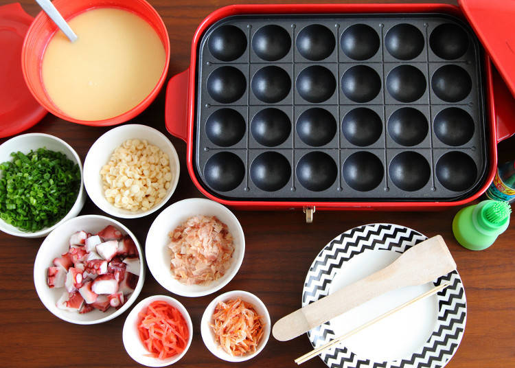 Making Takoyaki at Home - Customize the Traditional Takoyaki Recipe with Sausage, Cheese, and More!