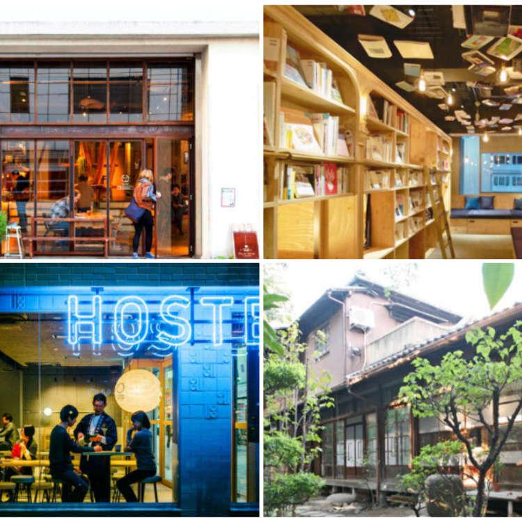 東京住宿永久保存版!10大設計風優質青年旅館