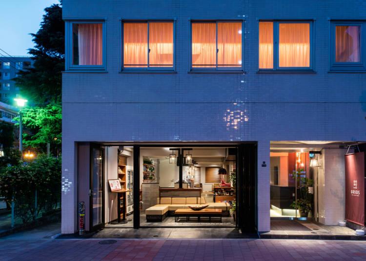 GRIDS AKIHABARA HOTEL + HOSTEL - Elegance Meets Functionality