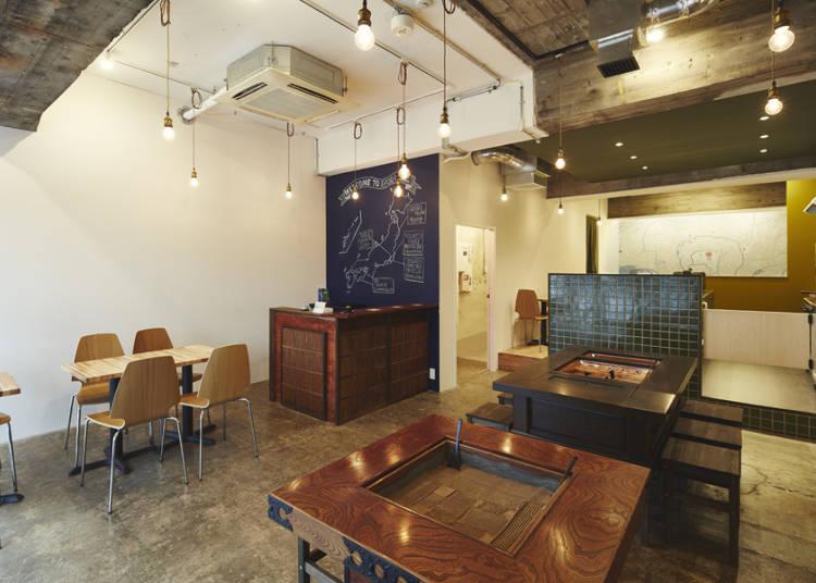 囲炉裏を囲んで交流を楽しもう!アットホームな雰囲気の「IRORI Nihonbashi Hostel and Kitchen」