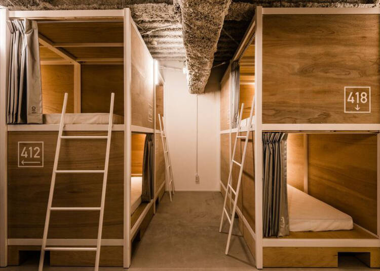 注重保护个人隐私的宿舍非常有人气!能再次感受到日本的贴心服务的「BUNKA HOSTEL TOKYO」