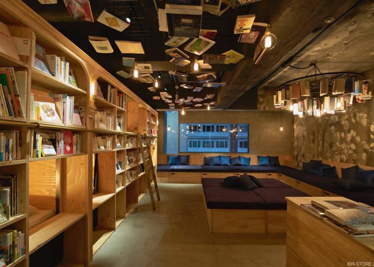 能看着各种书籍入睡的/BOOK AND BED TOKYO