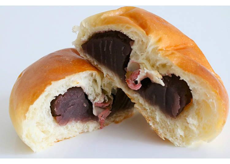 1) Koshi Anpan, Matoba's Most Popular Bean Bun