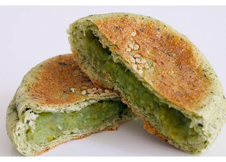 3) Zunda Anpan, the Soybean Specialty