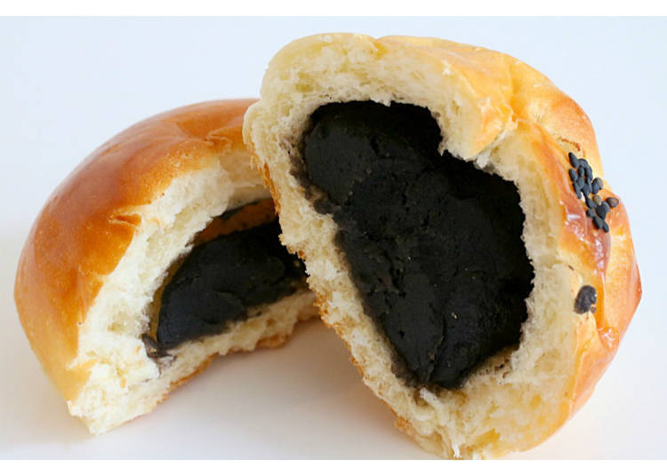 12) Kurogoma Anpan: Dark Sesame Delights