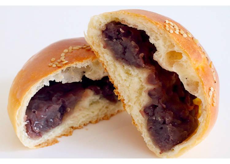 14) Shio Anpan (Ogura): Harmony of Sweet and Salty