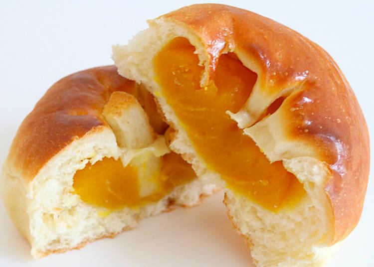 【6】かぼちゃのやさしい甘さの虜に!「かぼちゃあんぱん」