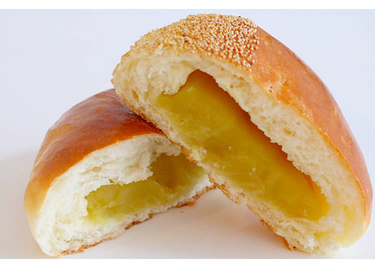 【8】奢华的日本栗子颗粒馅! 【栗子馅面包】