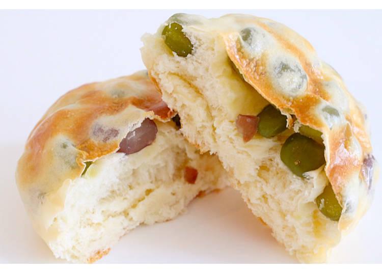 【9】可以享受2种豆的口感! 【双色豆面包】