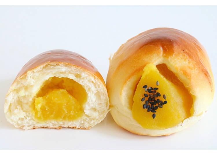 【13】金时甘薯黏密又浓厚! 【烤红薯馅面包】