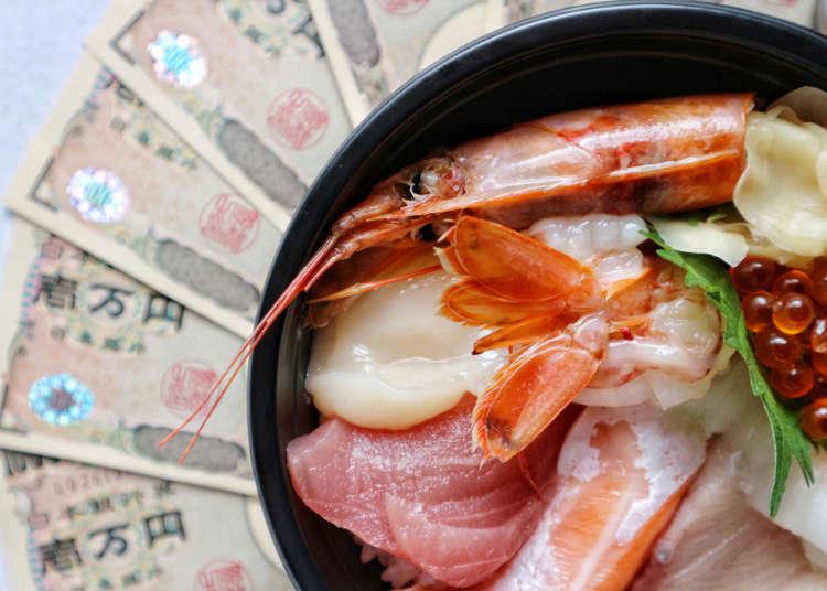超食用!在日本吃饭一天要花多少钱呢?!