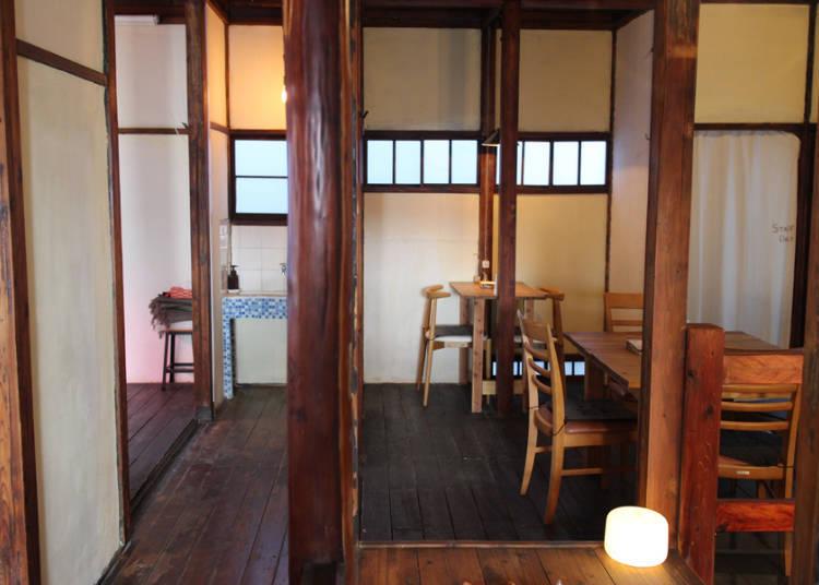 充满怀旧感的70年历史古民宅咖啡店