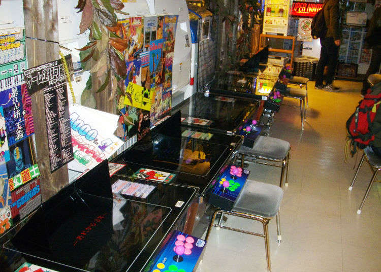 japan arcades and more top 5 retro game shops in akihabara live