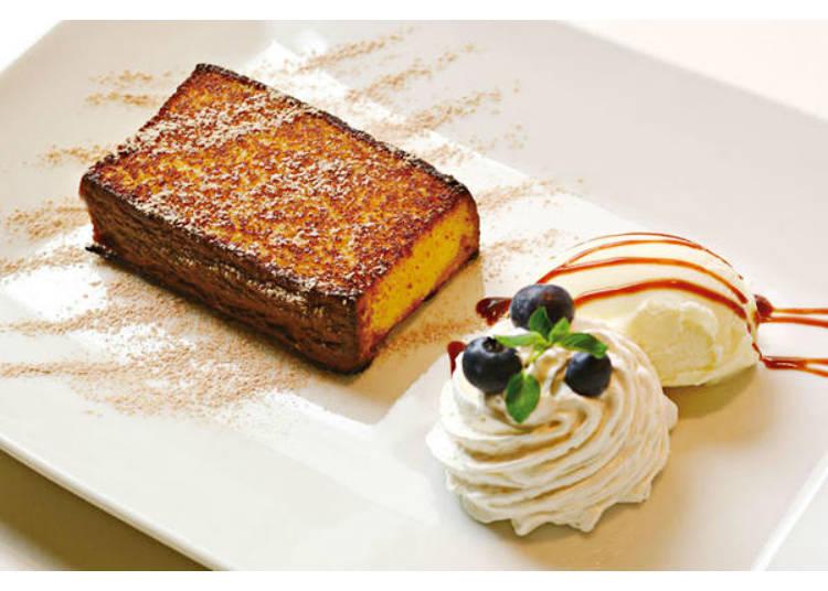 那个古老的和果子店的蜂蜜蛋糕变身为华丽的甜点!