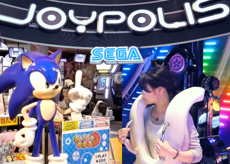 (Video) Tokyo Joypolis: Odaiba's Incredible Indoor Amusement Park!