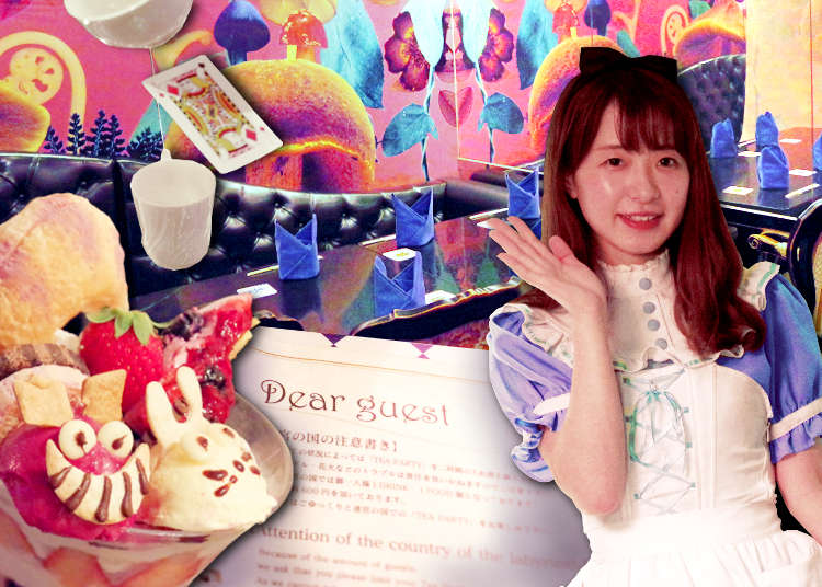 Alice in a Labyrinth: Fantasy Dining in Ginza