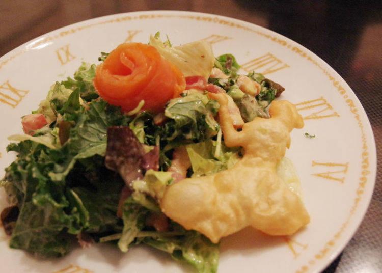 Feasting Like Alice: The Main Menu