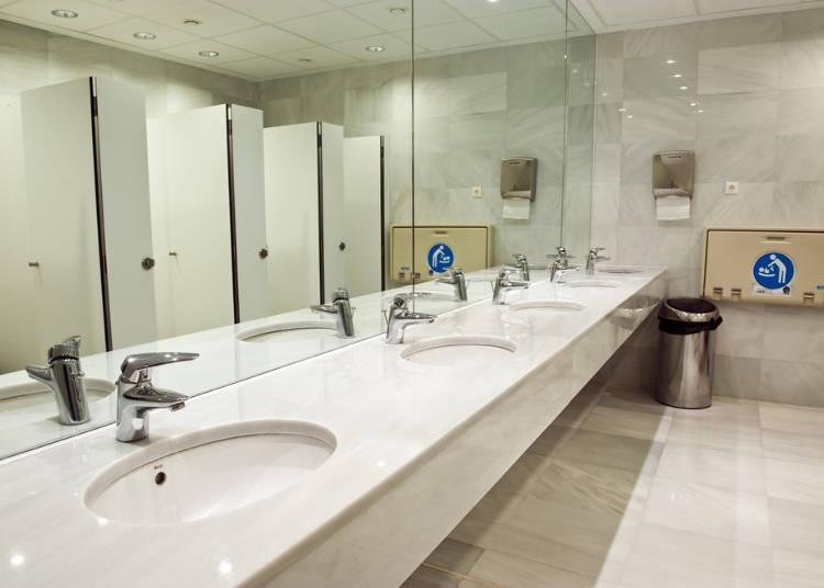 9.公共トイレが無料に驚いた!