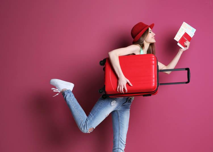 一、行李箱最多可以帶幾個?