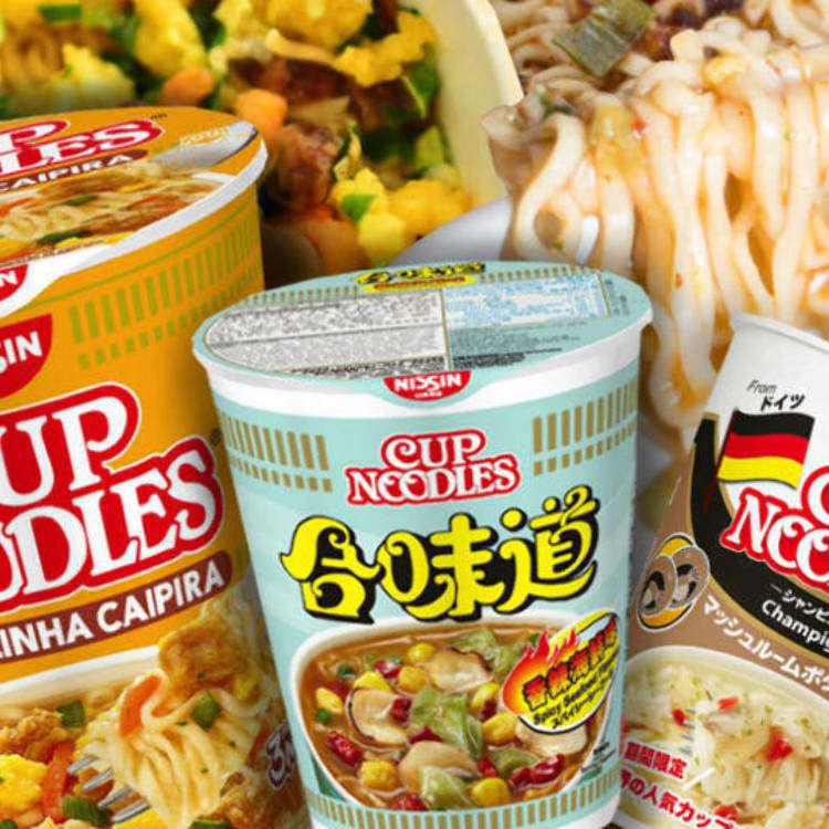 【日清食品】カップヌードルの世界秘話!アメリカは麺が短く、そしてインドは…