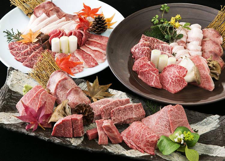 品嚐各部位和牛的美妙滋味!