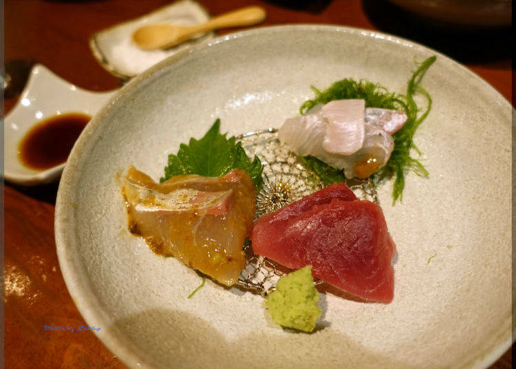 3. Yamadaya: Savor Both Seafood and Sake at this Hidden Hot Spot!
