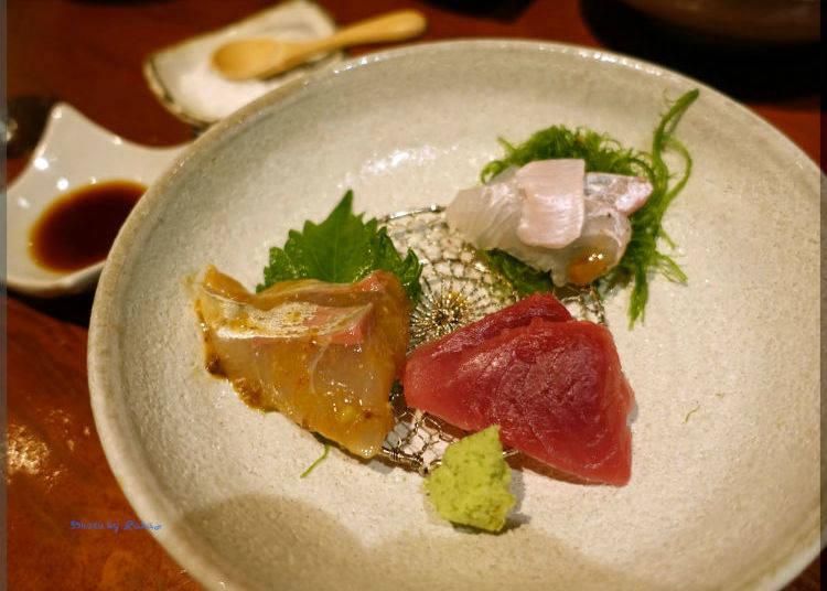 3. Yamadaya: Savor Both Seafood and Sake at this Hidden Hot Spot!