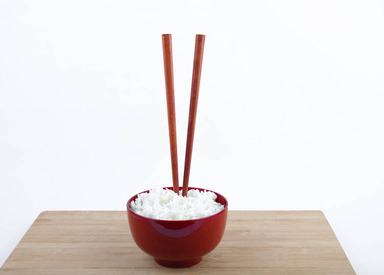 4. Don't Stick Your Chopsticks into Rice