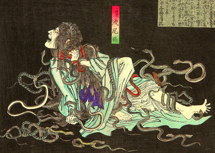 snakes combs and spiders 10 eerie japanese superstitions for the