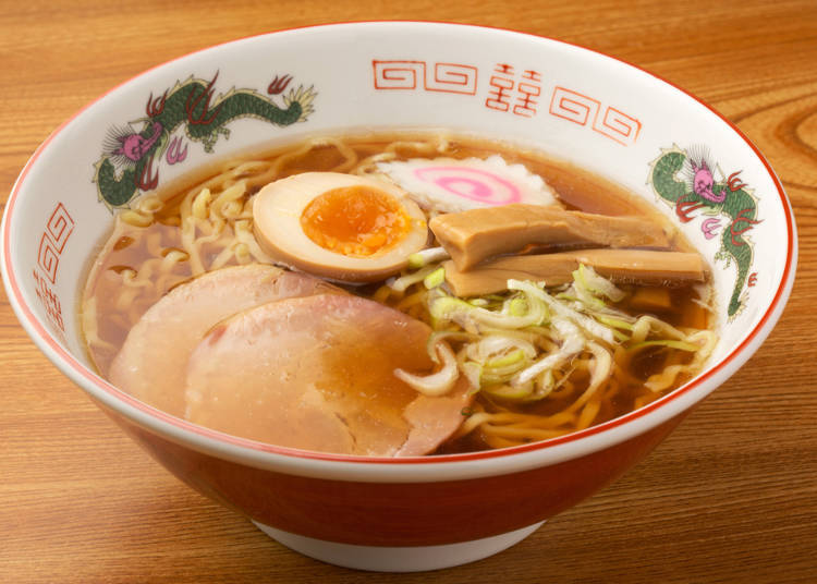 Second place goes to the light-tasting shoyu ramen
