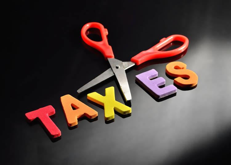 6)免稅額的多少,包含的店家,申請的方式?