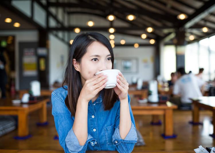 7)日本沒有專賣早餐的早餐店,如果住宿不含早餐的話,早餐可以去哪裡吃?
