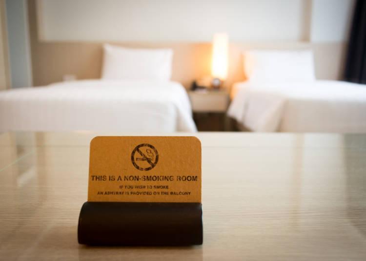 1)在check in時可否指定住禁菸房或吸菸房?