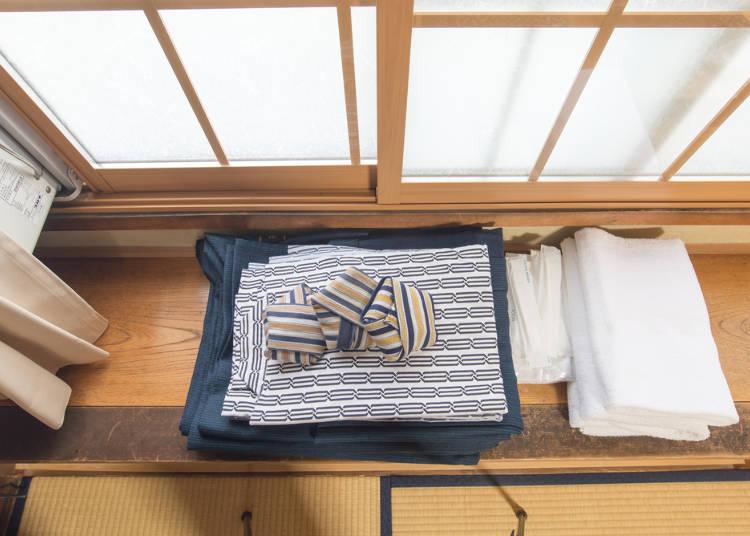 4)日式旅館可以穿著浴衣去大廳或餐廳嗎?