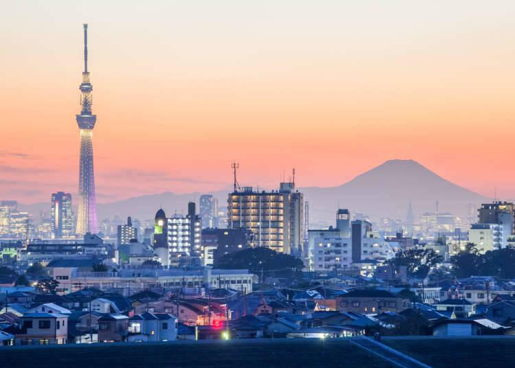 อยู่โตเกียวก็ชมวิวภูเขาไฟฟูจิได้