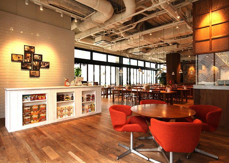 與楓糖漿絕配的蓬鬆鬆餅「Royal Garden Cafe 澀谷店」