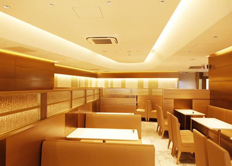 老店獨有的豪華水果聖代「澀谷西村水果飲茶室」